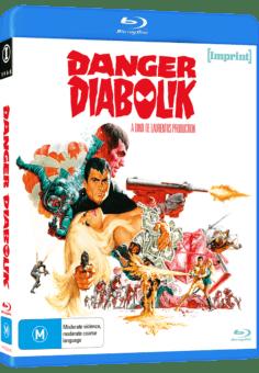 Imps2818 Danger Diabolik Blu Ray 3d