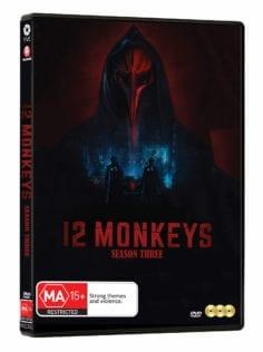 Vve1322 12 Monkeys Season Three Dvd 3d