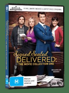 Vve2363 Signed Sealed & Delivered The Movie Collection 1 3d