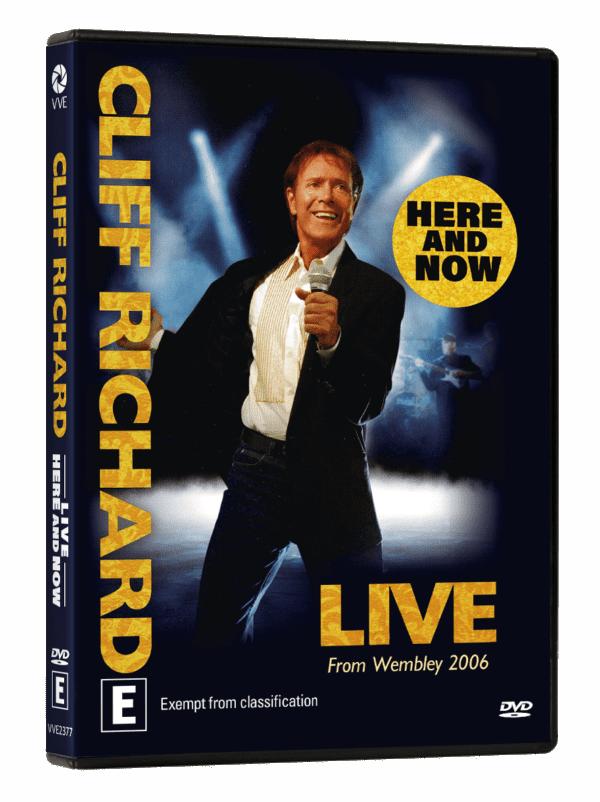Vve2377 Cliffrichardlive Here Now Dvdslick Packshot 3d