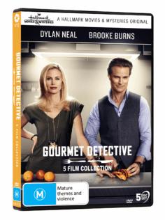 Vve2515 The Gourmet Detective 5 Film Collection 3d
