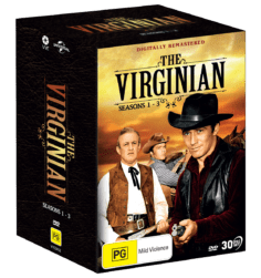 Vve2652 The Virginian Seasons 1 3 Dvdslipcasepackshot 3d
