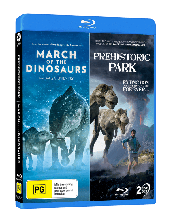 Vve2673 Prehistoric Park & March Of The Dinosaurs Bd 3d