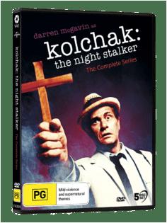Vve2674 Kolchak Night Stalker 3d