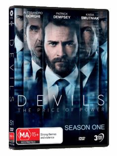 Vve2784 Devilsseason 1 Dvdslick Packshot 3d
