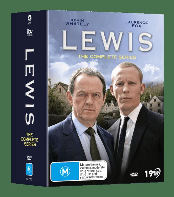 Vve2793 Lewis Complete Dvdslipcase Packshot 3d