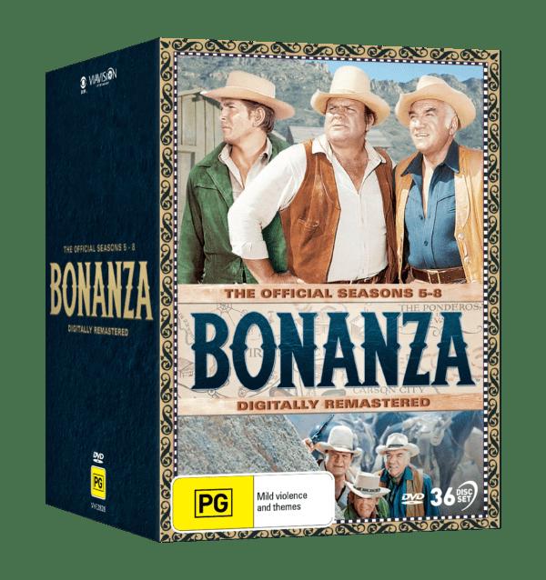 Vve2828 Bonanza Seasons 5 8 Dvdslipcase 3d